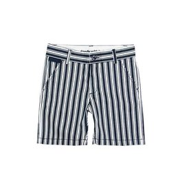 Boboli Boboli Satin bermuda shorts stretch for boy stripes