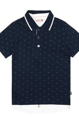 Boboli Boboli Pique combined polo for boy print