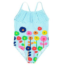 Boboli Boboli Swimsuit vichy for girl print