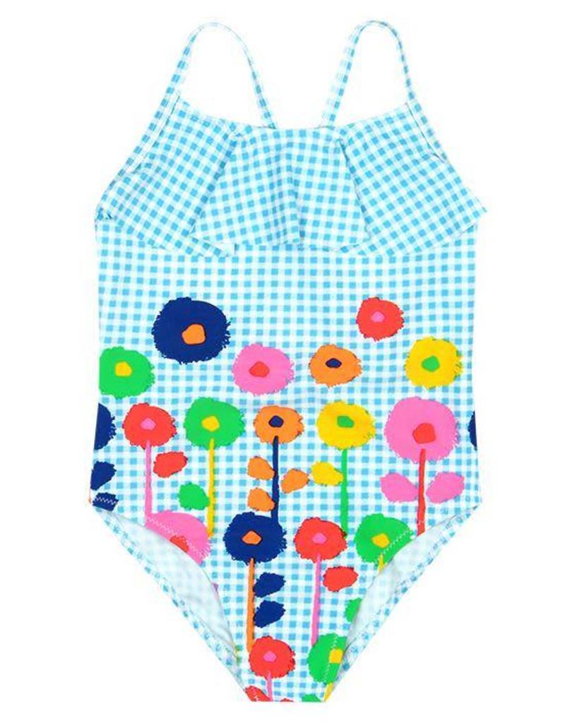 Boboli Boboli Swimsuit vichy for girl print