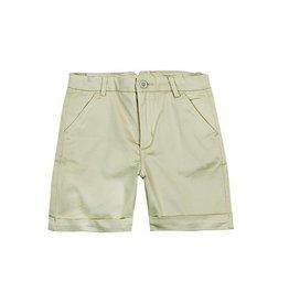 Boboli Boboli Satin bermuda shorts stretch for boy stone