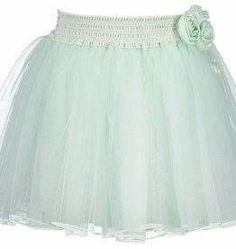 Le Chic Le Chic Rok tuille mint groen met elastische band