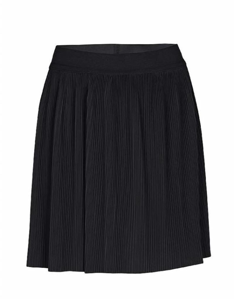 KIDSUP KIDS UP rok zwart plisee met elastische band