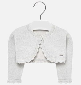 Mayoral Mayoral Basic knitted cardigan Silver/Lur - 00306