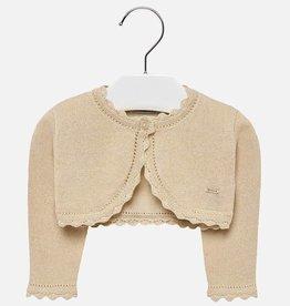 Mayoral Mayoral Basic knitted cardigan Sand - 00306