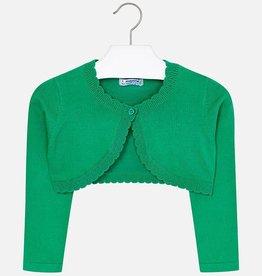 Mayoral Mayoral Basic knitted cardigan Green - 00320