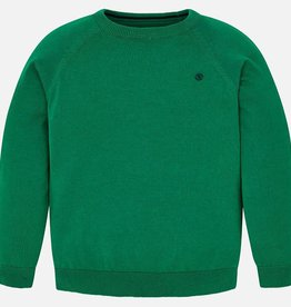 Mayoral Mayoral Basic cotton sweater Jade - 00356