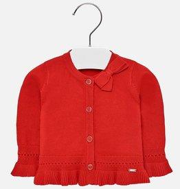 Mayoral Mayoral Knitting cardigan Red - 01307