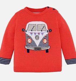 "Mayoral Mayoral ""van"" intarsia sweater Party - 01312"