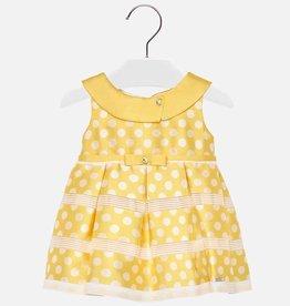 Mayoral Mayoral Dress Yellow - 01924
