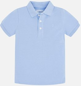 Mayoral Mayoral Basic s/s polo Sky - 00150
