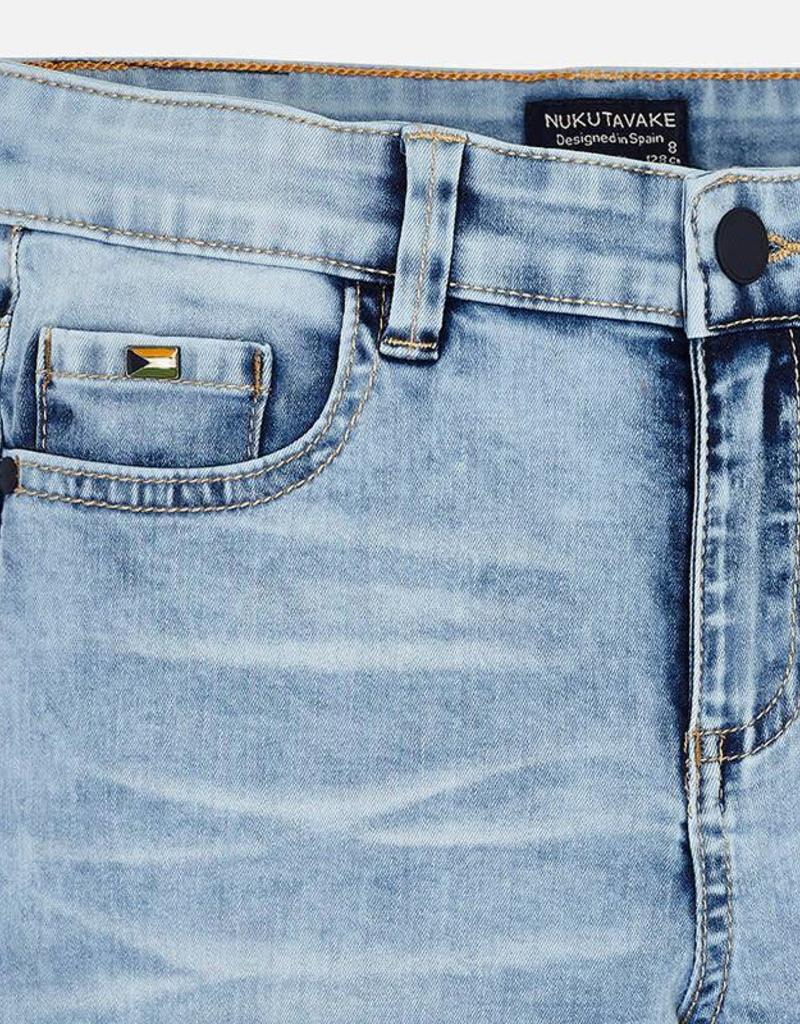 Mayoral Mayoral Denim 5 pocket bermuda shorts Light - 06221