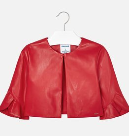 Mayoral Mayoral Leatherette jacket Red - 06405
