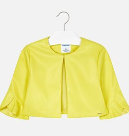 Mayoral Mayoral Leatherette jacket Citrus - 06405