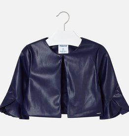 Mayoral Mayoral Leatherette jacket Navy - 06405