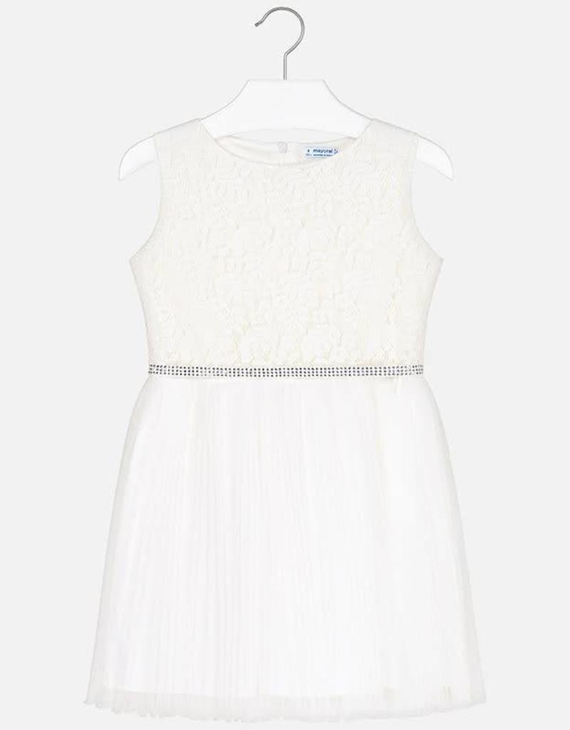 Mayoral Mayoral Lace dress White - 06915
