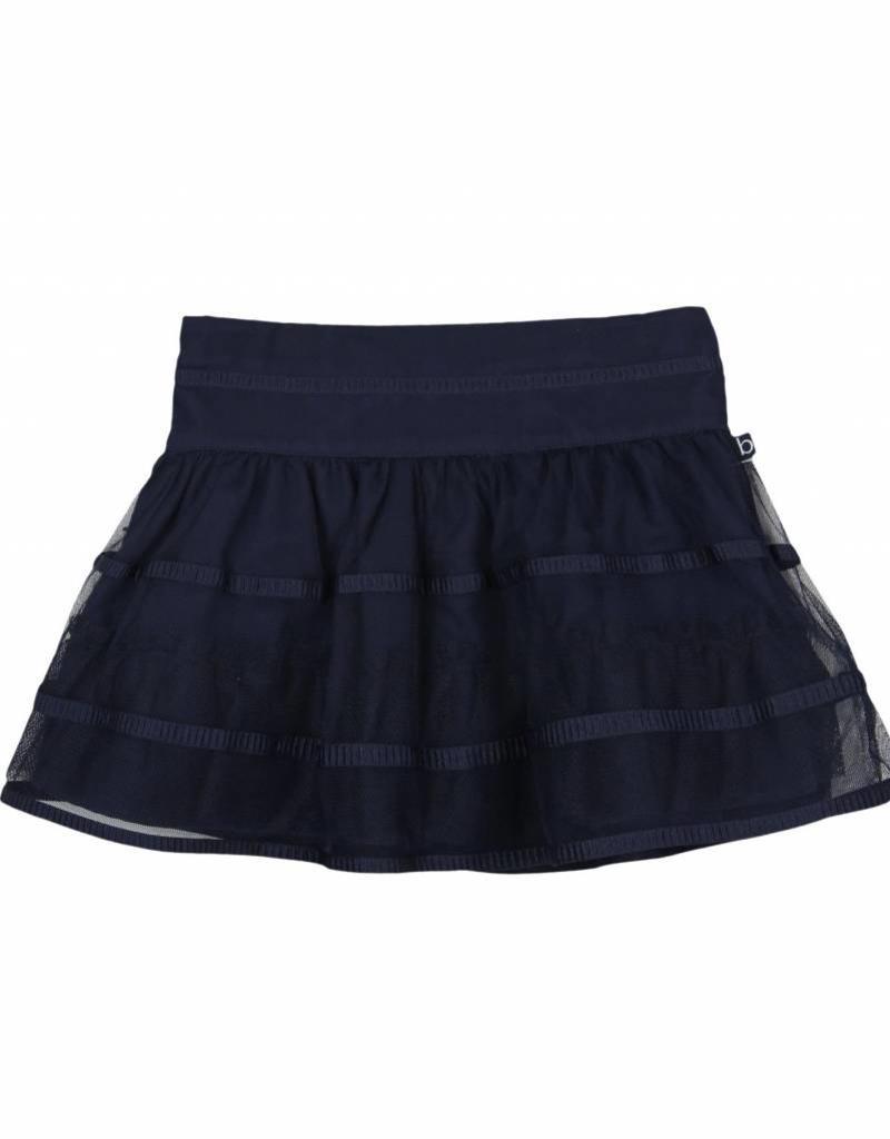 Boboli Boboli Tulle skirt for girl NAVY