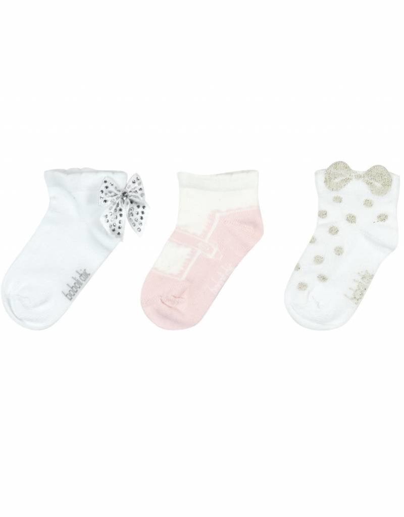 Boboli Boboli Pack of socks for girl WHITE