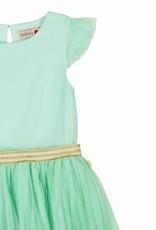 Boboli Boboli Tulle dress for girl aquamarine