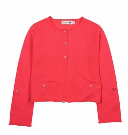 Boboli Boboli Knitwear jacket for girl azalea