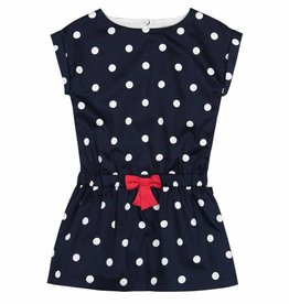 Boboli Boboli Satin dress for girl print