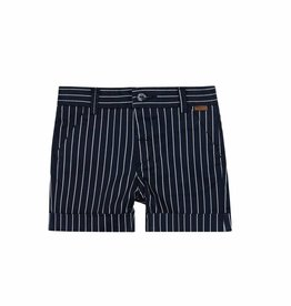 Boboli Boboli Satin bermuda shorts stretch for baby boy stripes