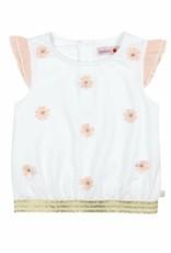 Boboli Boboli Stretch knit t-Shirt for girl WHITE-9