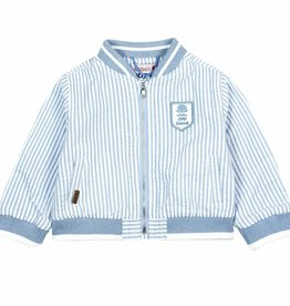 Boboli Boboli Bomber jacket striped for baby boy stripes