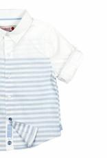 Boboli Boboli Poplin shirt for baby boy stripes-2