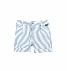 Boboli Boboli Poplin bermuda shorts for baby boy stripes