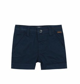 Boboli Boboli Satin bermuda shorts stretch for baby boy NAVY