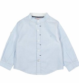 Boboli Boboli Long sleeves shirt for baby boy BLUE