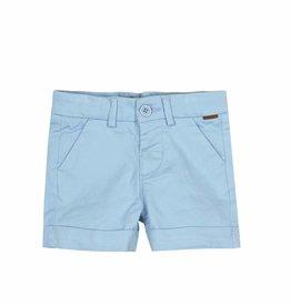 Boboli Boboli Satin bermuda shorts stretch for baby boy BLUE