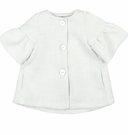 Boboli Boboli Coat for baby girl white