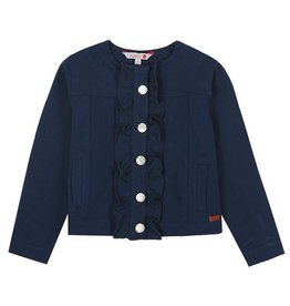 Boboli Boboli Fleece jacket stretch for girl NAVY