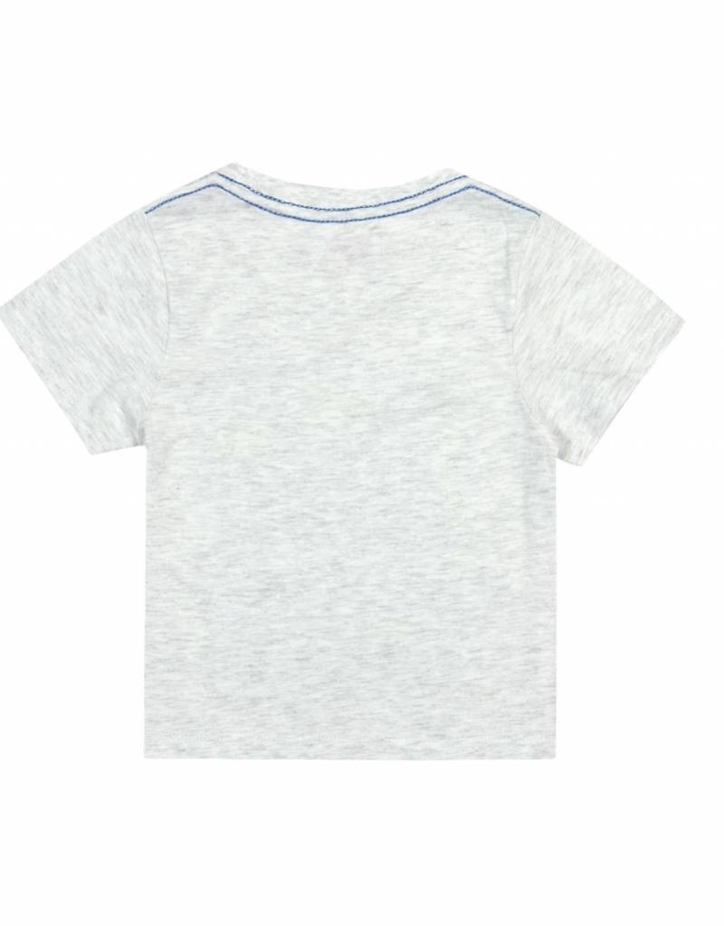 Boboli Boboli Knit t-Shirt for baby boy GREY