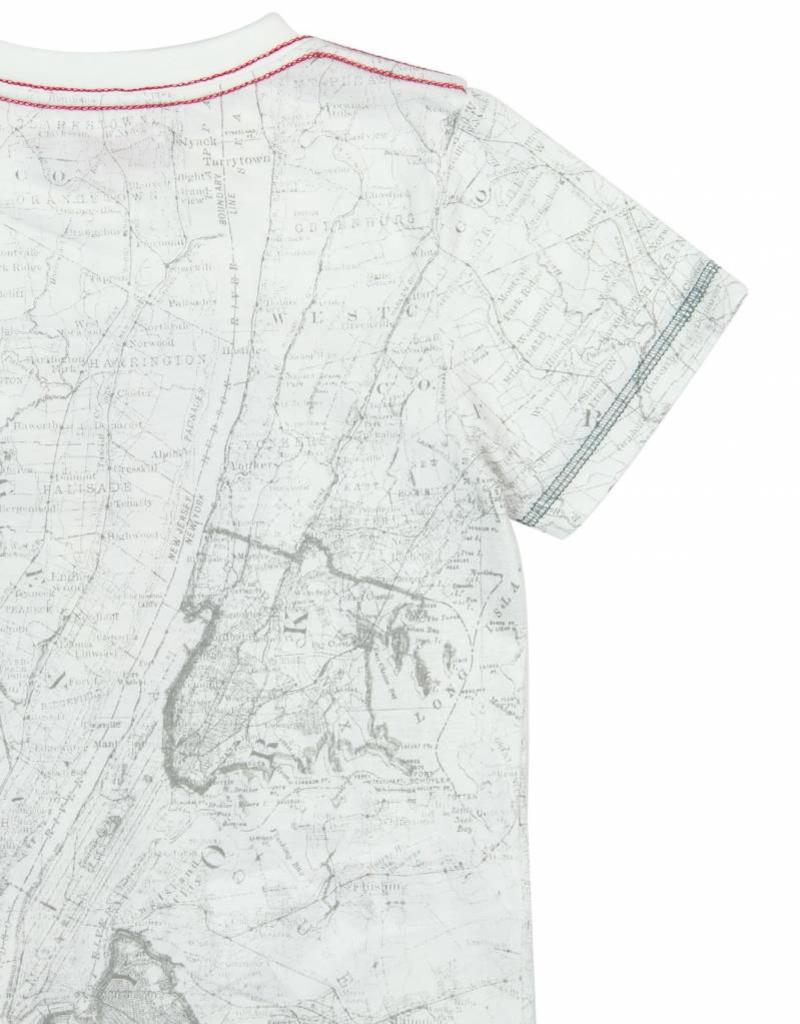 Boboli Boboli Knit t-Shirt for boy white