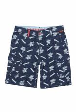 Boboli Boboli Fleece bermuda shorts flame for boy print