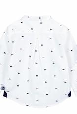 Boboli Boboli Poplin shirt for baby boy print
