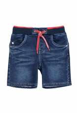 Boboli Boboli Knit denim bermuda shorts for boy BLUE