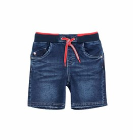 Boboli Boboli Knit denim bermuda shorts for boy BLUE