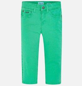 Mayoral Mayoral Basic slim fit serge pants Seaweed - 00509