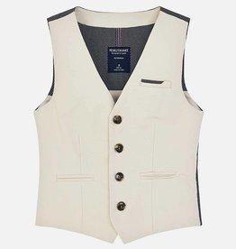 Mayoral Mayoral Linen vest Stone - 06306
