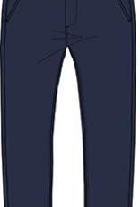 Boboli Boboli Stretch satin trousers for boy NAVY-2
