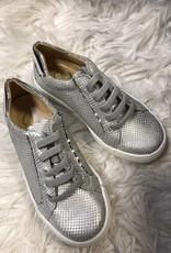eli Eli Sneaker Leer zilver