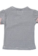 Dirkje Dirkje Shirt donkerblauw met witte strepen