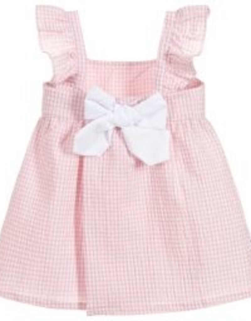 Babidu Babidu VICHY DRESS PINK