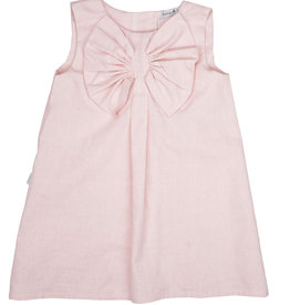 Babidu Babidu PLAIN CHAMBRAY DRESS PINK