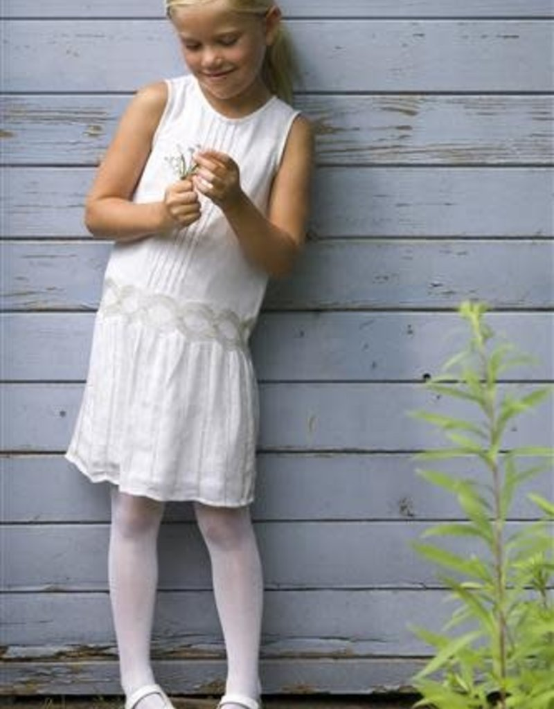 Bonnie Doon Bonnie Doon panty off white met glans