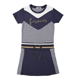 DJ DJ Dress A-FOREVER Navy-white stripe